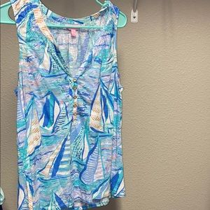 Lilly Pulitzer Essie Top Size Large